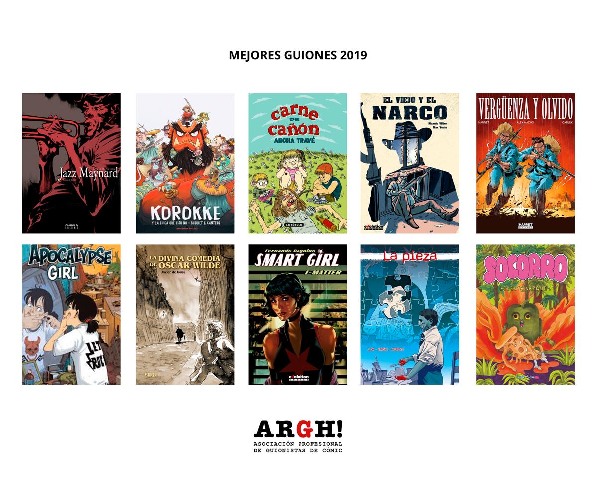 Mejores guiones de cómic nacional en 2019