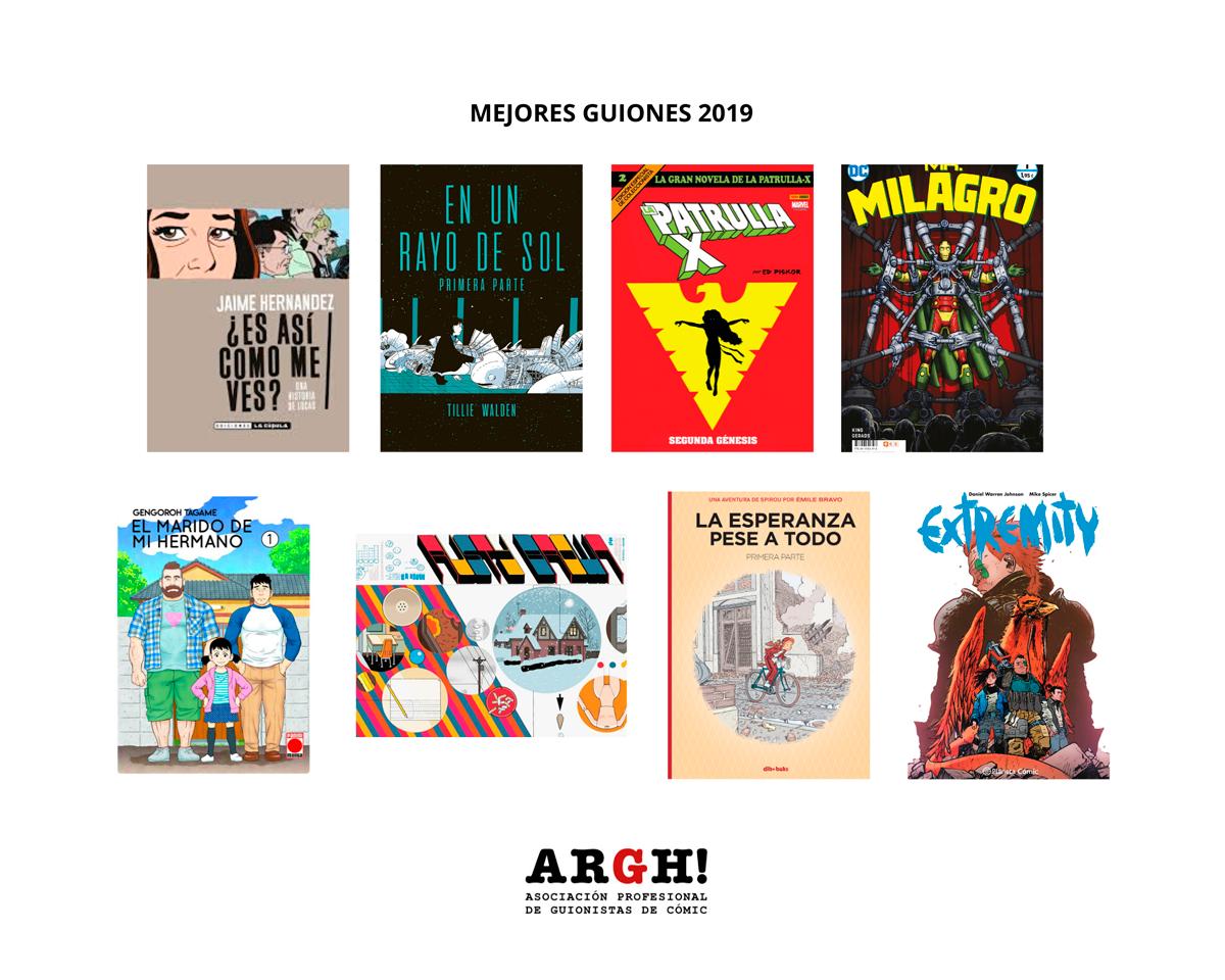 Mejores guiones de cómic internacional en 2019