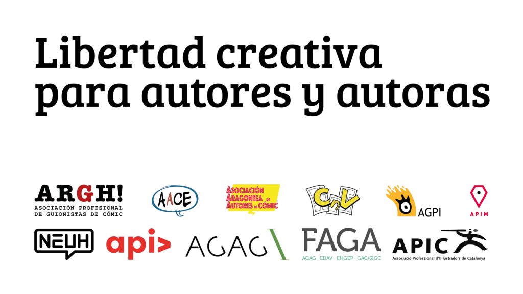 Libertad creativa para autores y autoras
